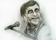 Mayur Sharma Metal Prints - Jagjit Singh Metal Print by Mayur Sharma