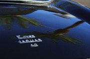 Jaguar E Type Photos - Jaguar E-type 4.2 Emblem 4 by Jill Reger