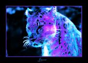 Coloring Digital Art - Jaguar  by Nick Gustafson