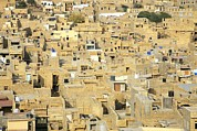 Urban Planning Prints - Jaisalmer, India Print by Bjorn Svensson