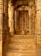 Door Sculpture Photos - Jaisalmer Palace by Sophie Vigneault