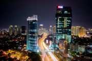 Busy City Photos - Jakarta City by Neil Buchan-Grant