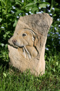 Stone Reliefs - Jake by Ken Hall