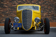 Custom Automobile Framed Prints - Jakes 34 Framed Print by Dennis Hedberg