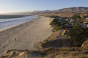 Coastlines Framed Prints - Jalama Campground And Beach. Pacific Framed Print by Rich Reid
