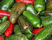 Hot Peppers Prints - Jalapenos Print by Brian Mollenkopf