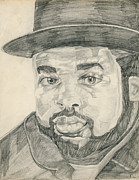 Run Drawings - Jam Master Jay by Allen Walters