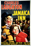 Hitchcock Framed Prints - Jamaica Inn, Charles Laughton, Maureen Framed Print by Everett