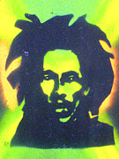 First Amendment Paintings - JAMAICA x JAMAICA  by Tony B Conscious