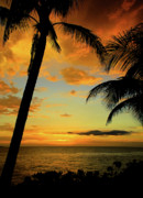 Red Photographs Photo Prints - Jamaican Night Print by Kamil Swiatek