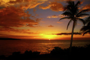 Tropical Sunset Prints - Jamaicas Warm Breeze Print by Kamil Swiatek