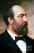 U.s. President Posters - James A. Garfield Poster by Photo Researchers