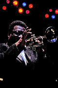 King James Framed Prints - James Boldin BB King trumpet player Framed Print by Gib Martinez