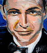 James Bond Paintings - James Bond  by Jon Baldwin  Art