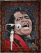 Artist Reliefs - James Brown by Gerald Sabatini