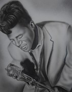King James Prints - James Brown Print by Terrence ONeal