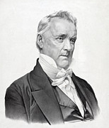 Democrat Prints - James Buchanan - President of the United States Print by International  Images