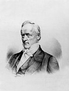Democrat Prints - James Buchanan - President of the United States of America Print by International  Images