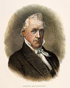 Democrat Prints - James Buchanan (1791-1868) Print by Granger