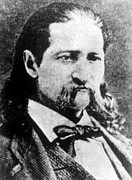 Wild Bill Prints - James Butler Hickok Aka Wild Bill Print by Everett