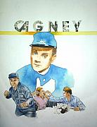 Yankee Doodle Dandy Paintings - James Cagney by Bryan Bustard