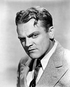 Lapels Framed Prints - James Cagney, Portrait, 1930s Framed Print by Everett