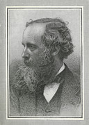 Clerk Posters - James Clerk Maxwell, Scottish Physicist Poster by Science, Industry & Business Librarynew York Public Library