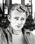 Jeff Mueller - James Dean In Time Square