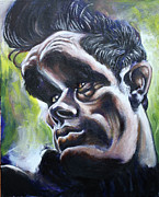 Dean Painting Originals - James Dean by Ted Castor