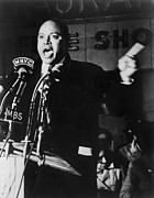 Discrimination Posters - James Farmer 1920-1999, Co-founder Poster by Everett