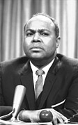 Civil Rights Movement Prints - James Farmer (1920-1999) Print by Granger