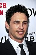 Howl Framed Prints - James Franco At Arrivals For Howl Framed Print by Everett