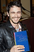 Booksigning Framed Prints - James Franco At In-store Appearance Framed Print by Everett