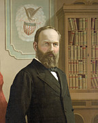 James Garfield Posters - James Garfield - President of the United States Poster by International  Images