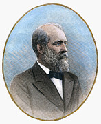1880s Prints - James Garfield (1831-1881): Print by Granger