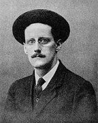 Novelist Framed Prints - James Joyce (1882-1941) Framed Print by Granger