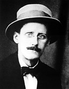 Bowtie Metal Prints - James Joyce, Circa 1910s Metal Print by Everett