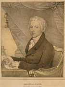 Democrat Prints - James Monroe Fifth President Print by Everett