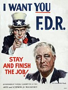 F.d.r. Posters - James Montgomery Flagg Poster Poster by Everett