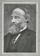 Prescott Framed Prints - James Prescott Joule, British Physicist Framed Print by Science, Industry & Business Librarynew York Public Library