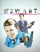 Hitchcock Originals - James Stewart by Bryan Bustard