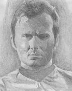 Captain Kirk Originals - James T. Kirk Drawing by Jeremiah Cook