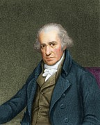 Watt Photos - James Watt, Scottish Engineer by Maria Platt-evans