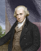 Watt Photos - James Watt, Scottish Engineer by Sheila Terry