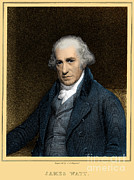 1736 Prints - James Watt, Scottish Inventor Print by Science Source