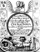 Title Page Art - Jan Baptist Van Helmonts, Opera Omnia by Science Source
