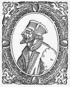 1400s Prints - Jan Hus, Czech Religious Reformer Print by Middle Temple Library