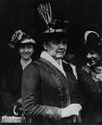 Eht10 Prints - Jane Addams 1860-1935, Founder Of Hull Print by Everett