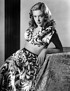 Two Piece Framed Prints - Jane Greer, C. 1947 Framed Print by Everett