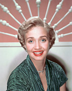 1950s Portraits Prints - Jane Powell, 1950s Print by Everett